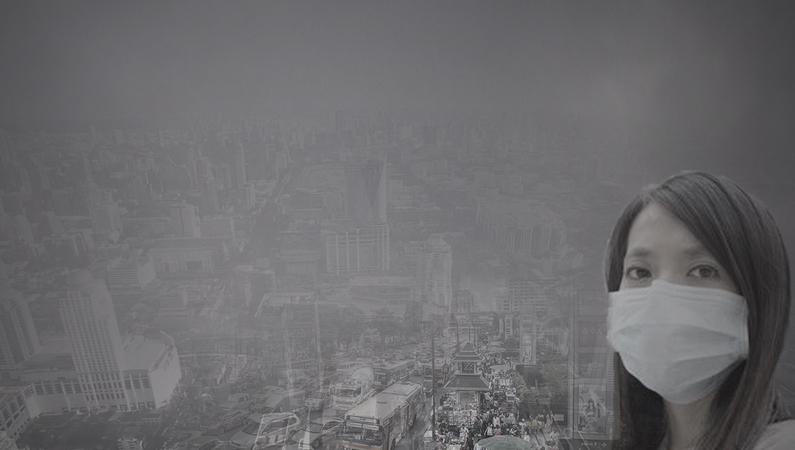 泰国曼谷空气污染猛增