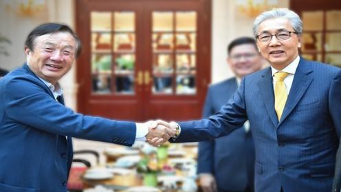 Ren Zhengfei and Somkid Jatusripitak