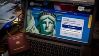 The webseite ESTA (Electronic System for Travel Authorization) of US. [Photo/IC]