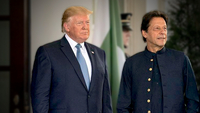 US President Donald Trump hosted Prime Minister Imran Khan at the White House and pledged to expand both political and commercial ties with Pakistan. — White House Flickr/File
