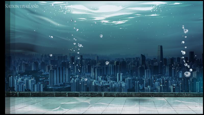 最新研究表明泰国曼谷将在30年内被淹没