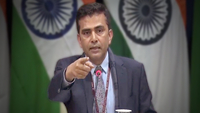 Ministry of External Affairs official spokesperson Raveesh Kumar. (Photo: Twitter/@MEAIndia)