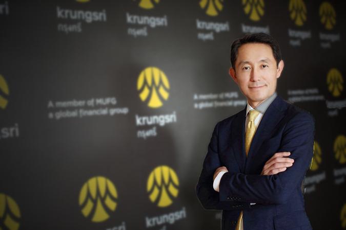Seiichiro Akita, Krungsri president and chief executive