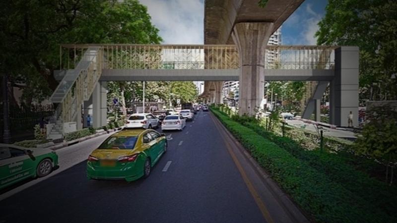 泰国曼谷城市管理局计划使老人行人过马路更安全