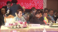 State Counsellor Daw Aung San Suu Kyi attends 22nd ASEAN Plus Three Sumit in Bangkok, Thailand. (Photo-Kyaw Zin Win)
