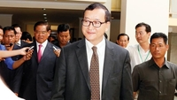 Sam Rainsy, exiled Cambodian opposition leader (Photo Credit: The Phnom Penh Post )