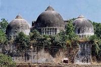 Rear view of the Babri Masjid in Ayodhya. (Photo: Wikimedia Commons)