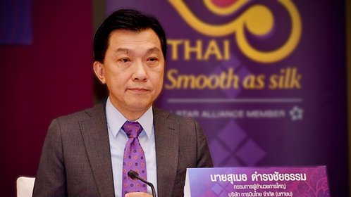 President of Thai Airways, Sumeth Damrongchaitham
