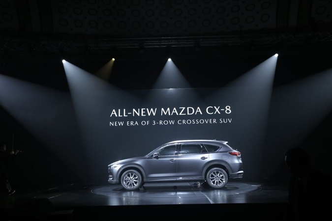 The CX-8 Premium Crossover SUV offers three-row six- and seven-seat options