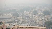 A blanket of toxic haze engulfs the national capital. (Photo: IANS)