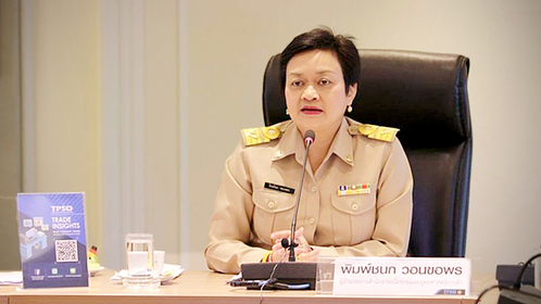 Pimchanok Vonkorpon, the director-general of the Trade Policy and Strategy Office (TPSO)