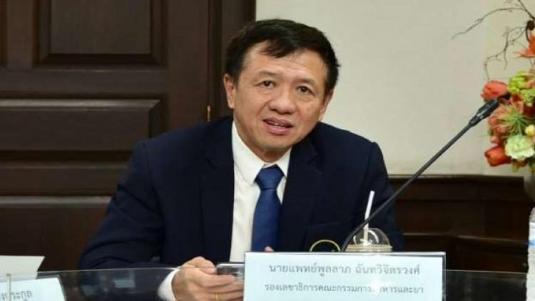 Dr Poonlarp Chantavichitwong, FDA deputy secretary-general
