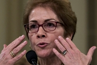 Former U.S. ambassador to Ukraine Marie Yovanovitch describes how she felt reading President Trump's comments about her as she testified in the House impeaching hearings Friday. (Bonnie Jo Mount/The Washington Post)