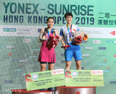 Ratchanok Intanon and Chen Yu Fei