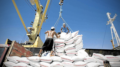 BIGGEST IMPORTER The Philippines has become the world's top rice importer for 2019 with orders expected to reach 3 million metric tons by the end of the year, according to a US Department of Agriculture report. —INQUIRER FILE PHOTO