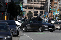 File photo:Uber Self-Driving Car Program Resumes After Crash
