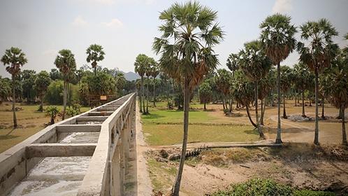 Bọng Định Nghĩa pumping station supplies water to irrigate 1,400ha of rice in Tịnh Biên District's An Phú Commune in Việt Nam's Mekong Delta province of An Giang. —VNA/VNS Photo Công Mạo