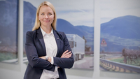 Stina Fagerman, the first female managing director at Scania Siam