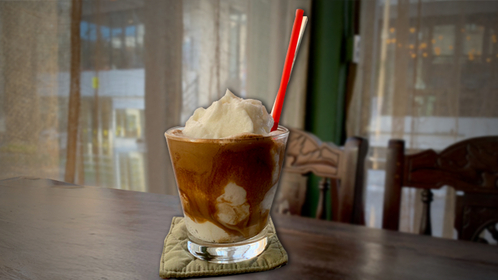Coconut Smoothie Coffee at Cong Caphe (Im Eun-byel/The Korea Herald