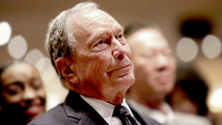 File Photo:Michael Bloomberg Speaks At Predominantly Black Church In Brooklyn, New York  NEW YORK, NY - NOVEMBER 17: Michael Bloomberg prepares to speak at the Christian Cultural Center on November 17, 2019 in the Brooklyn borough of New York City. Reports indicate Bloomberg, the former New York mayor, is considering entering the crowded Democratic presidential primary race. (Photo by Yana Paskova/Getty Images)