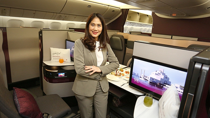 Qatar Airways launches new business class experience for Thai travellers