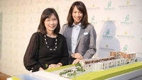 Serena Lim, left, Vice President Development, InterContinental Hotels Group (IHG), South East Asia and Korea, and Proudputh Liptapanlop, Executive Director of Proud Real Estate.