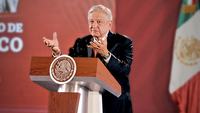 File Photo: President Lopez Obrador Daily Morning Press Briefing