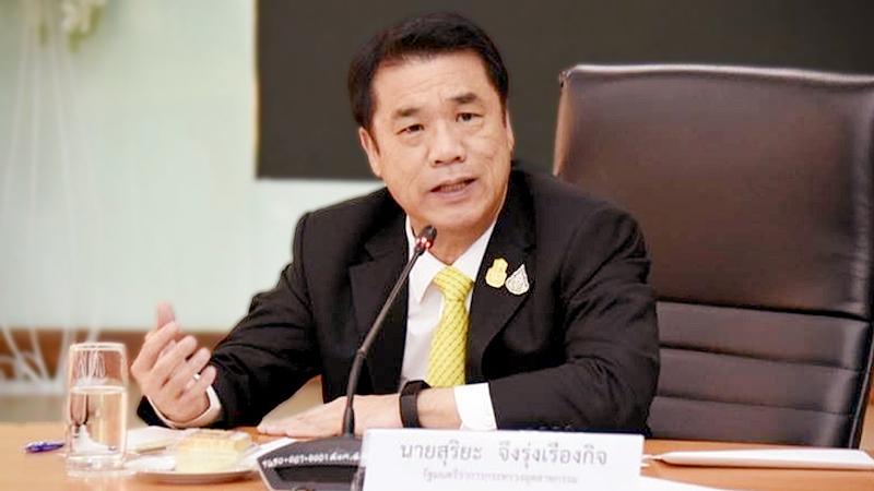 Industry Minister Suriya Juangroongruangkit