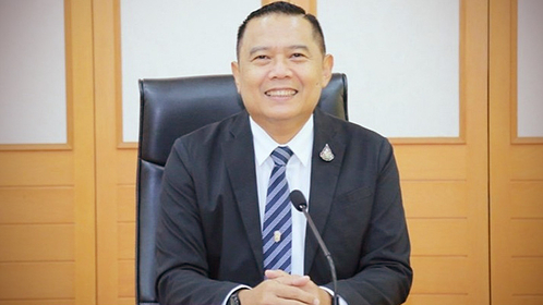 Director of The Department of Agriculture Extension, Kemkaeng Yutidhammadamrong