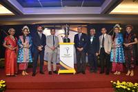 (Third from left) Cho Minn Thant, Commissioner and CEO, Asian Tour, Tang Meng Loon, Kota Permai Director, Tan Sri Mohd Anwar Mohd Nor, MGA President, Zulkifly Said, Tourism Malaysia Deputy Director General and Arep Kulal, CEO Winning Matters.