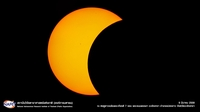 Partial eclipse in 2016 Photo credit: NARIT