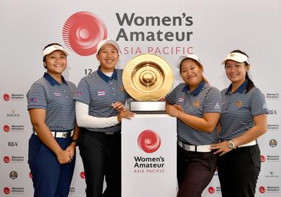 (From left)  Yosita Khawnuna, Natthakritta Vongtaveelap, Chanettee Vannasaen, Jumpita Chul-Ak-Sorn