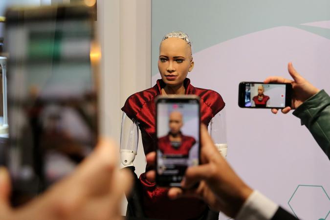 Hanson Robotics Inc.'s humanoid robot
