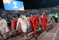 Thailand team after their defeat (Photo by Wanchai Kraisornkhajit)