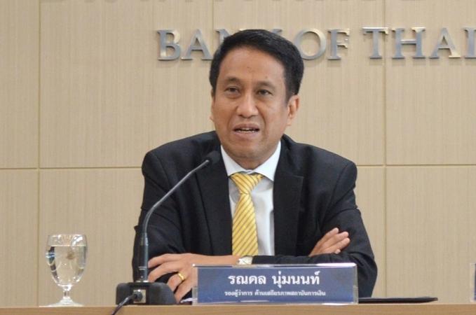 Deputy central bank governor Ronadol Numnonda.
