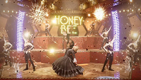 The Honey Bee Inn scene, one of the most famous from Final Fantasy 7, is remade like a musical number. MUST CREDIT: Square Enix handout image. ONE TIME USE ONLY. MANDATORY CREDIT. NO SALES. NO TRADES.