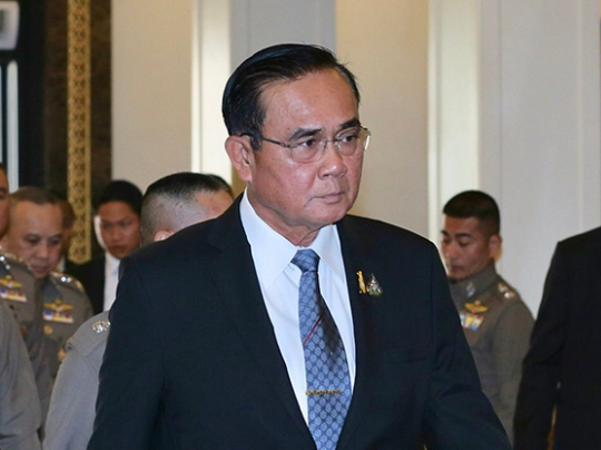 File Photo of Prime Minister Prayut Chan-o-cha /NationPhoto