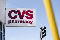 Signage is displayed outside a CVS Health Corp. store in Oakland, California, U.S.,on Friday, August 2, 2019. Photographer: Michael Short/Bloomberg