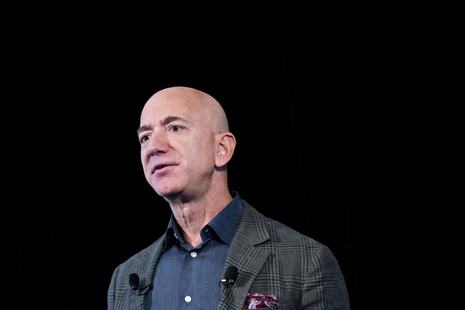 File Photo: Amazon chief executive Jeff Bezos