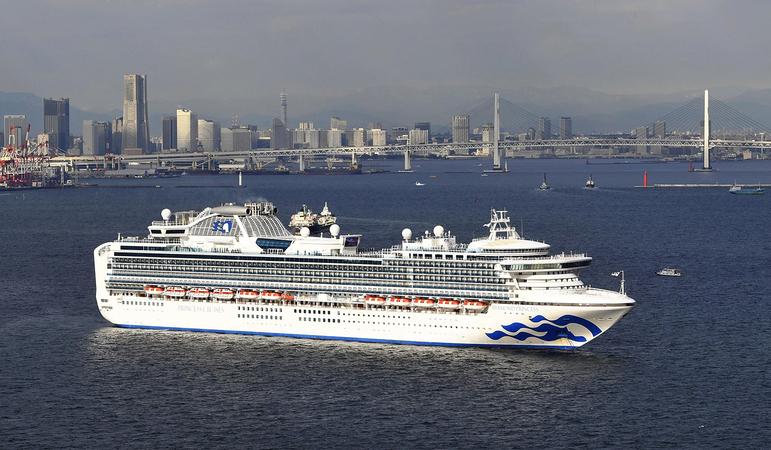 Diamond Princess cruise ship/Credit: Japan News-Yomiuri