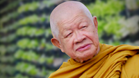 File Photo :Venerable Luangphor Viriyang Sirintharo/ Credit Wat Dhammamongkol