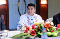 Dennis Uy, Chief Executive Officer of Phoenix Petroluem Philippines Inc., in Manila, Philippines, on March 5, 2018. MUST CREDIT: Bloomberg photo by Veejay Villafranca.