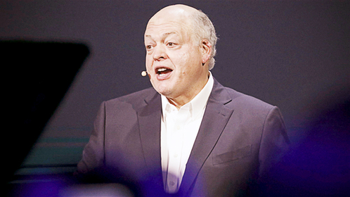 Jim Hackett, president and chief executive officer of Ford Motor Co., in Hawthorne, Calif., on Nov. 17, 2019. MUST CREDIT: Bloomberg photo by Patrick T. Fallon.