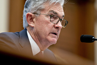 Jerome Powell, chairman of the Federal Reserve, speaks during a House Financial Services Committee hearing in Washington on Feb. 11, 2020. MUST CREDIT: Bloomberg photo by Andrew Harrer.