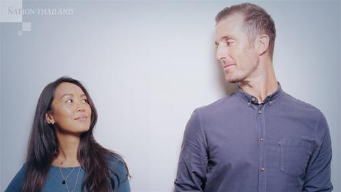 Rebecca 'Frankie' Mok and Matt Love, founders