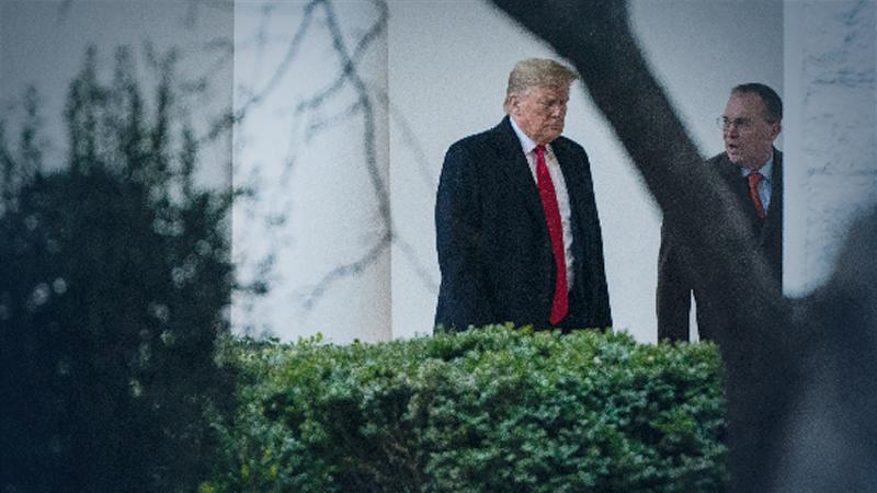 File Photo: President Trump (left)