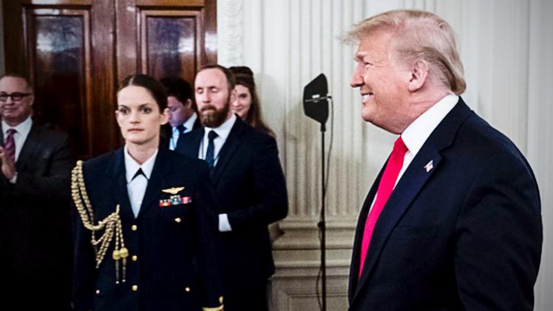 File Photo of President Trump / The Washington Post
