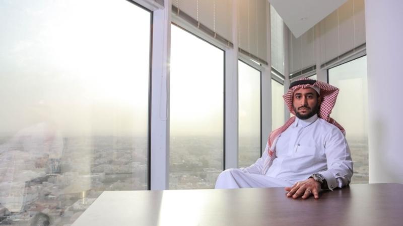 Abdullah Altamami at his office in Riyadh, Saudi Arabia, on Feb. 11, 2020. MUST CREDIT: Bloomberg photo by Maya Anwar Siddiqui.