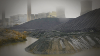 The John E. Amos coal-fired power plant in Winfield, W. Va., was retrofitted to comply with a rule on mercury enacted under President Barack Obama. MUST CREDIT: Photo for The Washington Post by Stacy Kranitz
