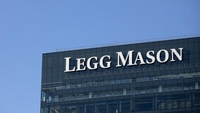 The Legg Mason headquarters stands in Baltimore, Md., on Dec. 1, 2011. MUST CREDIT: Bloomberg photo by Andrew Harrer.